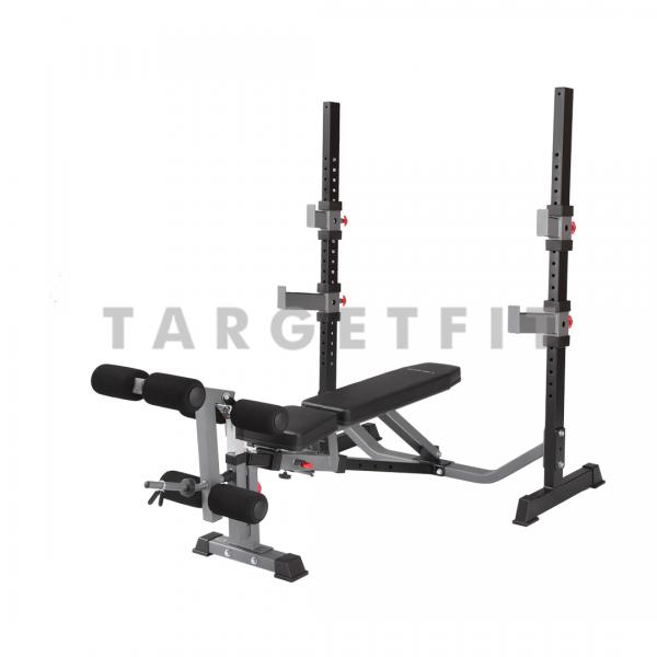 olympic combination bench & squat bodycraft f609