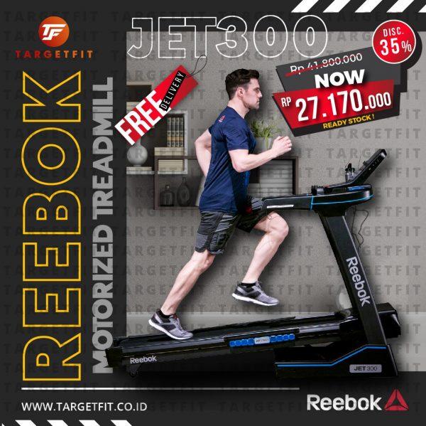 reebok jet 300 treadmill
